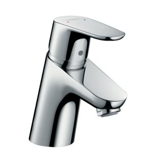 Focus Single lever basin mixer 70 with 2 flow rates with pop-up waste