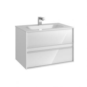 Vitra M-Line Infinit Vanity Unit With 2 Drawer 80cm