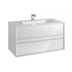 Vitra M-Line Infinit Vanity Unit With 2 Drawer 100cm