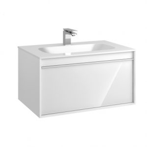 Vitra M-Line Infinit Vanity Unit With 1 Drawer 80cm