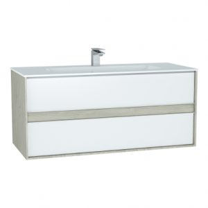 Vitra M-Line Infinit Vanity Unit With 2 Drawer 120cm