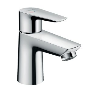 Talis E Single lever basin mixer 80 CoolStart with pop-up waste