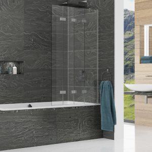 Kudos Inspire Four Panel In-Fold Bathscreen