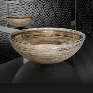 Glass Design Italy Graffiti Countertop Bowl