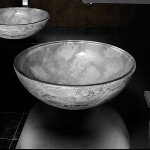 Glass Design Italy Luna Countertop Bowl