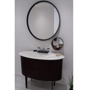 Burgbad Dive 2.0 Vanity Unit With Small Mirror And Large Mirror